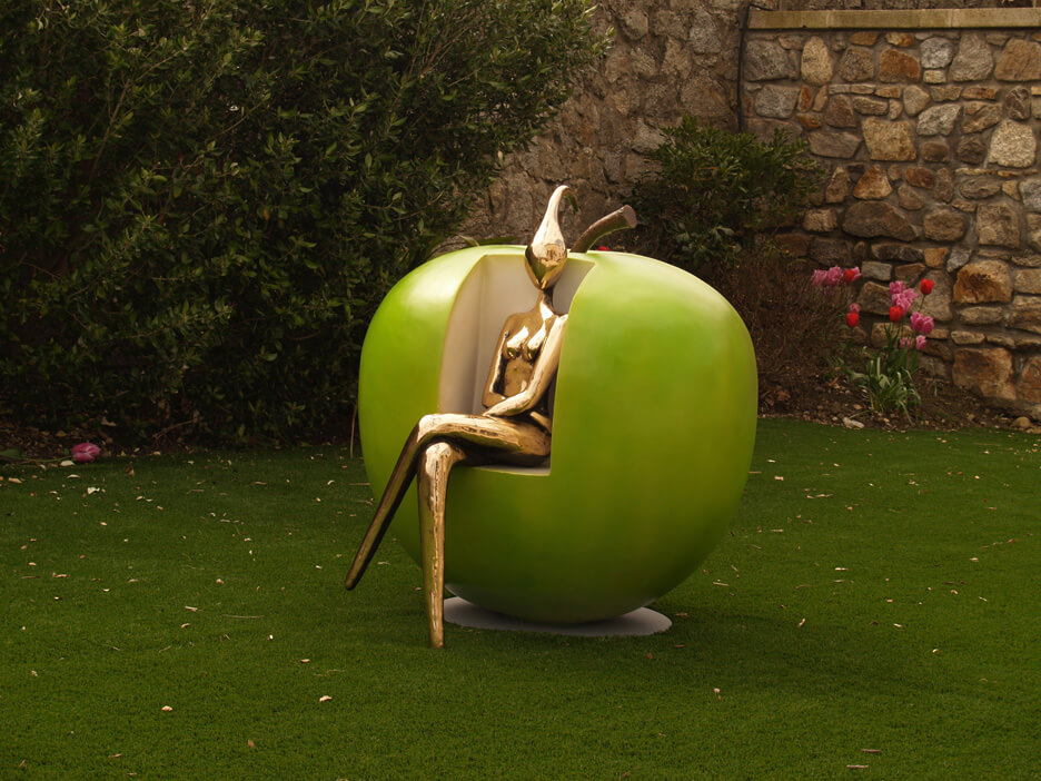 orla de bri apple seat bronze