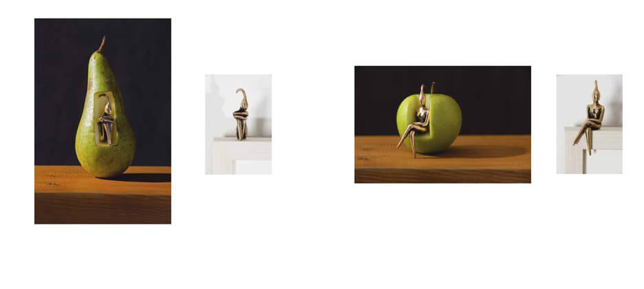 orla de bri pear chair photographic works